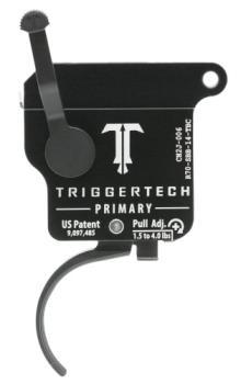 Triggertech R70-SBB-14-TBC Tt Rem 700 Curved Black Trigger