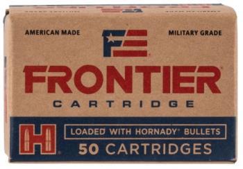 Frontier Ammunition  Frontier Cartridge FR1005 Rifle 223 Rem 55 gr Full Metal Jacket (FMJ) 50 Bx/ 10