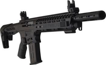 "Panzer Arms 117755 AR 12 TACTICAL AR-12 Standard Black Anodized 12 Gauge 20"" 3"" 5+1 Fix"