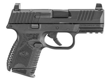 FN 66-100571 509C  9mm 3.70 15rd 12rd Black