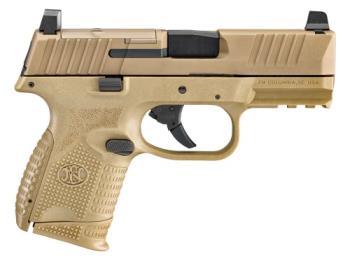 FN 66-100574 509C 9mm MRD NMS FDE compact pistol