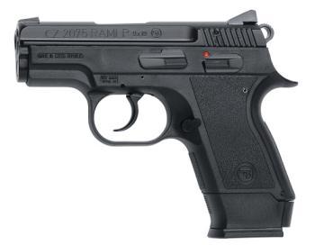 "CZ-USA 01750 2075 Rami *CA Compliant 9mm Luger 3"" 10+1 Black Black Rubber Grip"