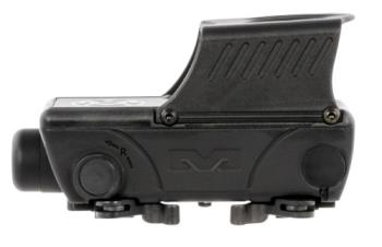 Meprolight USA ML56855503 Foresight  1x 33x20mm Multi-Reticle Black
