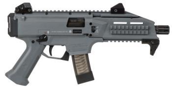"CZ-USA 01356 Scorpion EVO 3 S1, Pistol, 9MM, 7.7"" Barrel, Adjustable Sights, 10Rd"