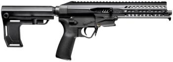"POF USA 119726 Patriot Ordnance Factory 01664 Rebel  22 LR 8"" 10+1 Black Anodized Black Polymer"
