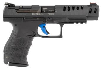 "Walther Arms 2846926 PPQ M2 Q5 Match 9mm Luger 5"" 15+1 Black Black Tenifer Slide"