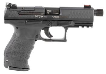 "Walther 2846969 Q4 Tactical 9mm Luger 4.60"" TB Black"