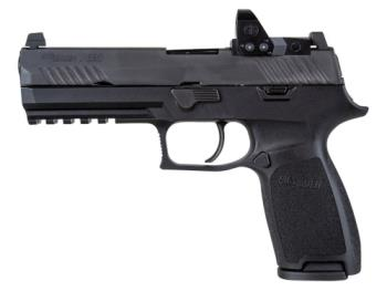 """Sig Sauer  320F-9-B-RXP P320 Full Size 9mm Luger 4.70"""" 17+1 Black Black Polymer Grip"""