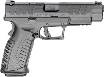 """Springfield Armory XDME9459BHC XD-M Elite 9mm Luger 4.50"""" 20+1 Black Melonite Finish"""