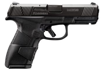 """Mossberg 89014 MC-2 Compact 9mm Luger 3.90"""" 15+1 13+1 Matte Black Black Stainles"""