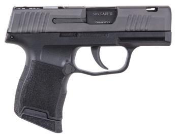 "Sig Sauer 365-9-SAS P365 SAS 9mm Luger 3.10""  Black Steel Black Polymer Grip"