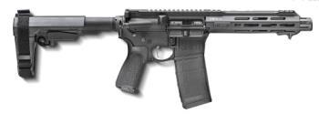 "Springfield Armory STV975556B-SBA3 Saint Victor 7.5"" 5.56mm AR pistol with SBA3 adjustable brace Black"