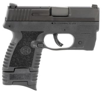 """FN 661000982 503  9mm Luger 3.10"""" 6+1 8+1 Black Black Polymer"""