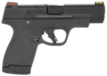 "Smith & Wesson 13252 M&P9 Shield Plus PC 9mm 4""  10/13RD black"