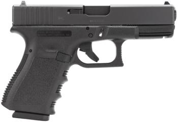 "GLOCK PI2350203 G23 Gen 3 Compact 40 S&W 4.02"" 13+1 Black Steel Slide Black Poly"