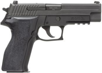 "Sig Sauer E26R-9-BSS , P226, DA/SA, Full Size, 9MM, 4.4"" Barrel, Night Sights, 15Rd, 2 Magazines"