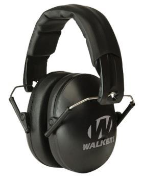 Walkers GWP-YWFM2 Ear Muffs Youth/Women passive muffs fold up 23dB reduction