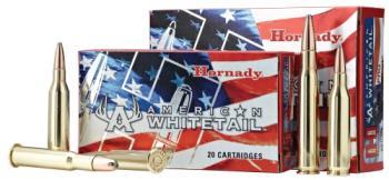 Hornady 81489 American Whitetail  6.5 Creedmoor 129 gr InterLock Spire Point 20