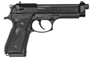 """Beretta J90A1M9A1F19 M9 22LR 4.90"""" 15+1 Black Bruniton"""