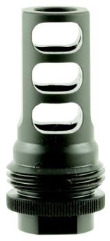 "SilencerCo AC1557 ASR  458 Caliber Muzzle Brake 5/8""-32 tpi Black Steel"