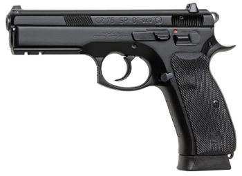 CZ-USA 91152 - NO DECOCK 75 Sp-01 9mm Blk 19rd Rail
