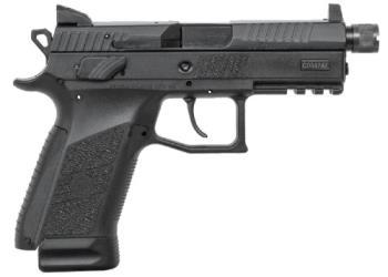"CZ-USA 91289 CZ P-07 Suppressor Ready 9mm Luger 4.30"" Black Nitride"