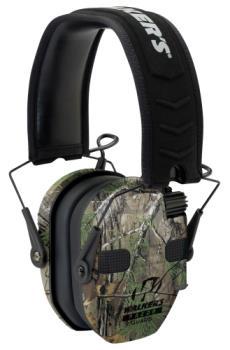 Walkers GWP-RSEQM-CMO Razor Slim Electronic Ear Muffs Realtree Xtra Camo