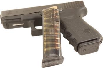 ETS Group GLK-19 Clear Glock 19 15rd Smoke Mag