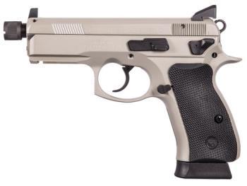 CZ-USA 91299 75 P-01  Omega 9mm Suppressor Ready Threaded 14+1 Night Sights
