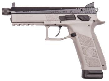 "CZ-USA 91269 CZ P-09 Suppressor Ready 9mm Luger 5.15"" Urban Gray"