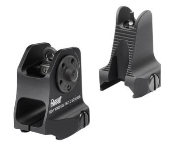 Daniel Defense 19-088-09116 Rock and Lock Front/Rear Sights AR-15 Fixed Aluminum B
