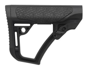 Daniel Defense 3475 Collapsible Buttstock  Black Synthetic for AR15/M16