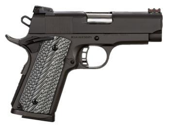 "Rock Island Armory 51585 Rock Ultra CS-L 45 ACP 3.50"" Black Parkerized Gray G10 Grip"