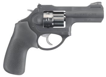 "Ruger 5435 LCRx   22 LR 3"" 8 Round Black Hogue Tamer Monogrip Grip Black Matte"