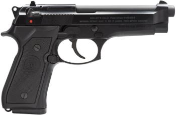 "Beretta JS92F300M 92 FS Italy 9mm 4.9"" 15+1 Black Syn Grip Black"