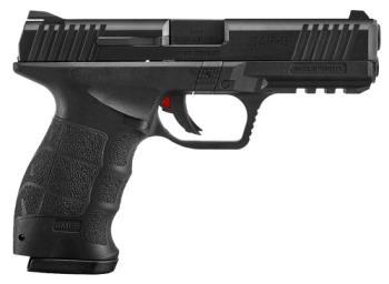 """Sar Arms SAR9BL 9mm Luger 4.40"""" 17+1 Black Black Black Interchangeable Back"""