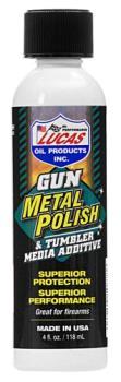 Lucas Oil 10878 Gun Metal Polish  4 oz Bottle