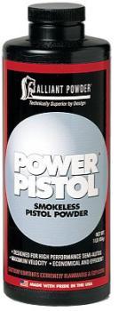Alliant Powder ALL150614 Alliant 150614 Power Pistol Smokeless Powder 1lb 1 Canister