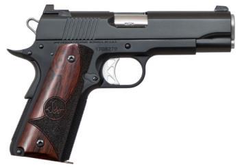 "CZ-USA 01835 Vigil Commander 9mm Luger 4.25"" 9+1 Black Aluminum Wood Grip"