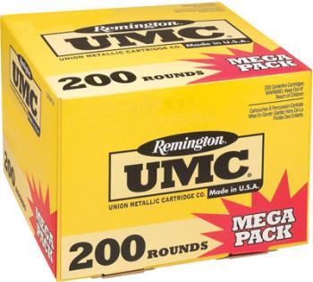 Federal 23683 Remington UMC 223 55 Grain Full Metal Jacket 200 Round Box