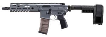 "Sig Sauer PMCX300B9BTAP MCX Virtus Pistol 300 Blackout 9"" 30+1 Stealth Gray Elit"