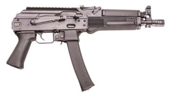 "Kalashnikov Usa  KP-9 9MM AK style pistol 9.25"" barrel 30rd mag black"