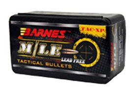 BARNES BULLETS BRNS30446 Barnes 30446 Tactical 357 Sig Sauer 9mm .355 125 GR 40 Per Box