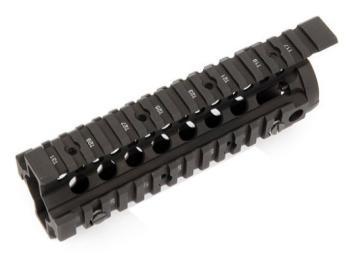 Daniel Defense 59711 0100510001 Omega Rail Carbine Length AR-15 Black Hardcoat Anodize