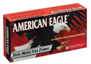 Federal  AE380AP American Eagle  380 ACP 95 gr Full Metal Jacket (FMJ) 50 Bx/ 20