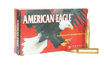 Federal AE223N American Eagle  223 Rem 62 gr Full Metal Jacket Boat Tail (FMJBT)
