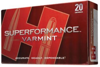 Hornady 8025 Superformance Varmint  223 Rem 53 gr V-Max 20 Bx/ 10 Cs