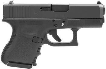"GLOCK 73394 PI2750201 G27 Gen3 Sub-Compact *CA Compliant 40 S&W 3.43"" 9+1 Black Steel"