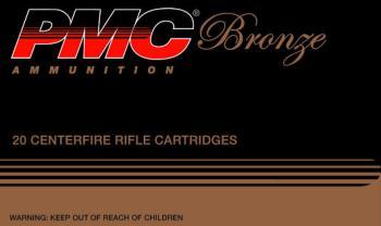 PMC 308B Bronze  308 Win 147 gr Full Metal Jacket Boat Tail (FMJBT) 20 Bx/ 25 Cs