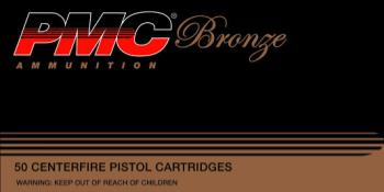 PMC 10B Bronze 10mm 170gr JHP 25rds